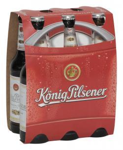 König Pilsener  (6 x 0,33 l) - 4100770003105