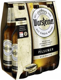 Warsteiner Premium Pilsener  (6 x 0,33 l) - 4000856105214