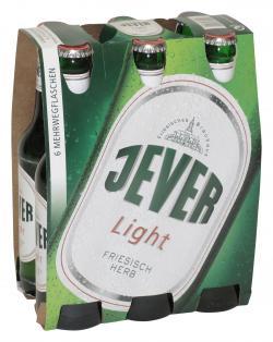 Jever Light  (6 x 0,33 l) - 4008948171000