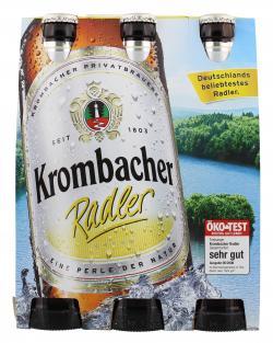 Krombacher Radler  (6 x 0,33 l) - 4008287072365