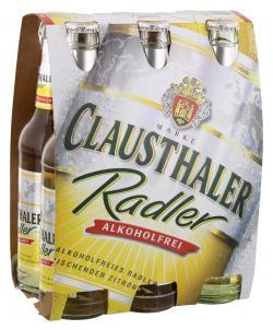 Clausthaler Radler alkoholfrei  (6 x 0,33 l) - 4053400016887