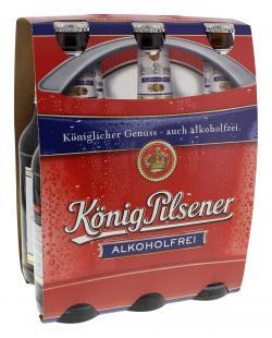 König Pilsener Alkoholfrei  (6 x 0,33 l) - 4100770005109