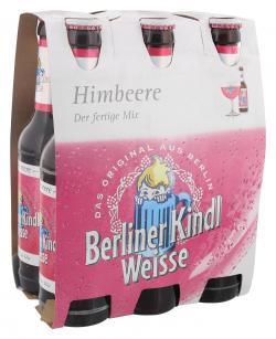 Berliner Kindl Weisse Himbeere  (6 x 0,33 l) - 4053400057378