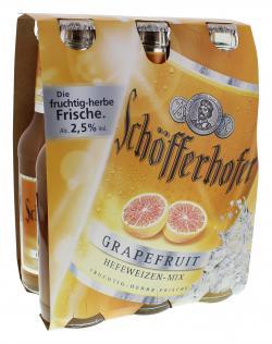 Schöfferhofer Weizen-Mix Grapefruit  (6 x 0,33 l) - 4053400058528