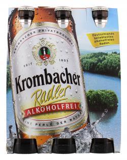 Krombacher Radler alkoholfrei  (6 x 0,33 l) - 4008287073669