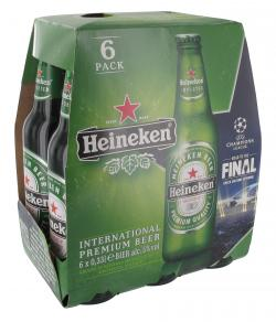 Heineken Pils  (6 x 0,33 l) - 8712000029296