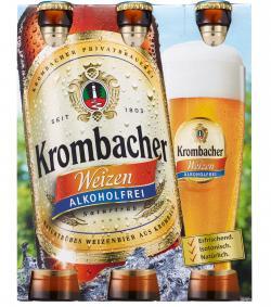 Krombacher Weizen alkoholfrei  (6 x 0,33 l) - 4008287064360