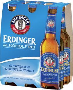 Erdinger Alkoholfrei  (6 x 0,33 l) - 4002103249917