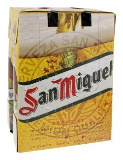 San Miguel Especial  (6 x 0,33 l) - 8410655006388