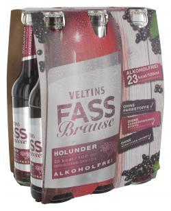 Veltins Fassbrause Holunder  (6 x 0,33 l) - 4005249002668
