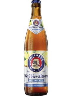Paulaner Wei�bier-Zitrone alkoholfrei  (500 ml) - 4066600642022