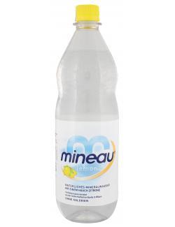 Mineau Mineralwasser lemon  (1 l) - 4010491004605