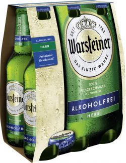 Warsteiner Herb alkoholfrei  (6 x 0,33 l) - 4000856108963