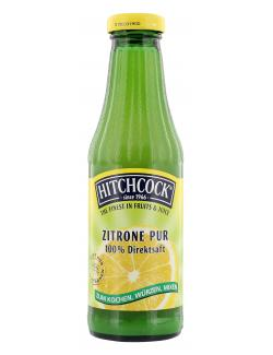 Hitchcock Zitrone Pur  (500 ml) - 5410188802054