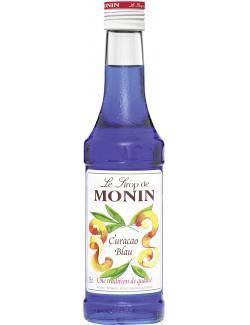 Monin Sirup Curaçao blau  (250 ml) - 4008077744069