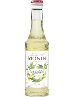 Monin Sirup gelbe Banane  (250 ml) - 4008077744205