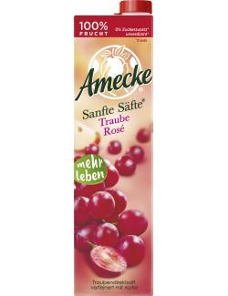 Amecke Sanfte Säfte Traube Rosé  (1 l) - 4005517004035