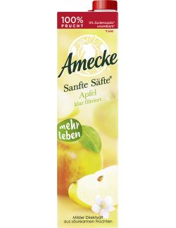 Amecke Sanfte S�fte Apfel klar filtriert  (1 l) - 4005517004080