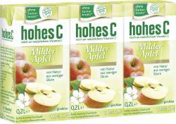 Hohes C Milder Apfel  (3 x 0,20 l) - 4045145506105
