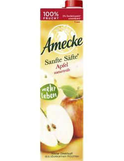 Amecke Sanfte Säfte Apfel naturtrüb  (1 l) - 4005517004004