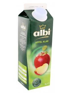 Albi Apfelsaft klar  (1 l) - 4003240906008