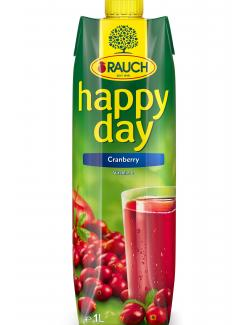 Rauch Happy Day Cranberry  (1 l) - 9008700128971