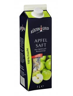 K�stengold Apfelsaft aus Apfelsaftkonzentrat klar  (1 l) - 4250426206692