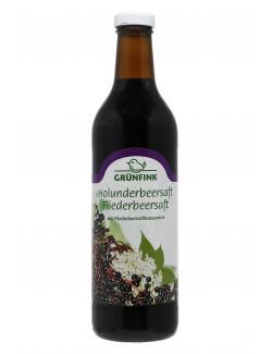 Gr�nfink Fliederbeersaft Holunderbeersaft  (750 ml) - 4105550045603