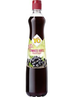 Yo Fruchtsirup Schwarze Ribisel  (700 ml) - 9001400005030