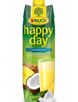 Rauch Happy Day Cocos Ananas  (1 l) - 9008700150095