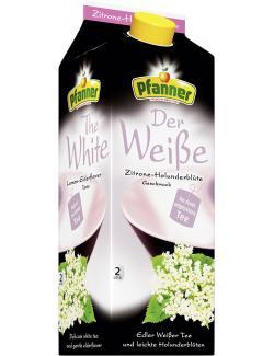 Pfanner Der Wei�e Zitrone-Holunderbl�te  (2 l) - 9006900212131