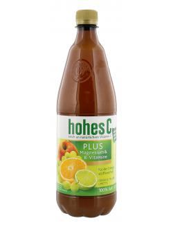 Hohes C plus Magnesium & B-Vitamine Orange-Traube-Limette  (1 l) - 4045145245202