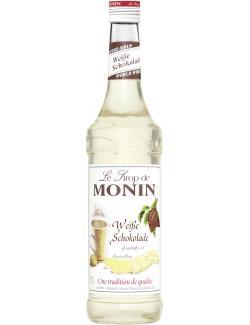 Monin Sirup White Chocolate  (700 ml) - 4008077741617