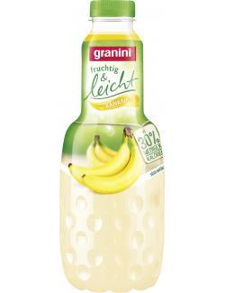 Granini Fruchtig & Leicht Banane mit Stevia  (1 l) - 4045145272109