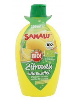 Samalu Zitronen W�rzmittel  (200 ml) - 4021155029179