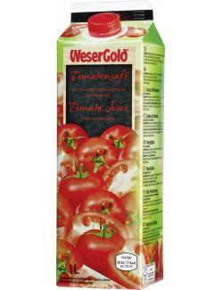 Wesergold Tomatensaft  (1 l) - 4100060018512