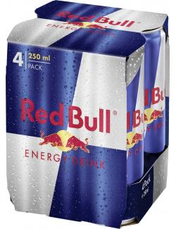Red Bull Energy Drink  (4 x 0,25 l) - 9002490203658