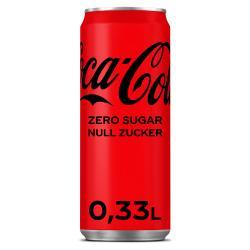 Coca Cola Zero  (330 ml) - 5000112552157