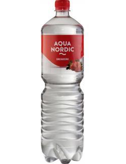 Aqua Nordic Erfrischungsgetränk Erdbeere  (1,50 l) - 4027109908125