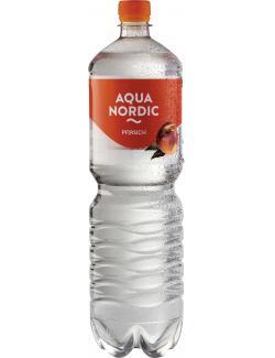 Aqua Nordic Erfrischungsgetränk Pfirsich  (1,50 l) - 4027109908149