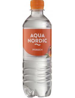Aqua Nordic Erfrischungsgetränk Pfirsich  (500 ml) - 4027109908316