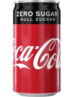 Coca Cola Zero  (250 ml) - 5000112555134