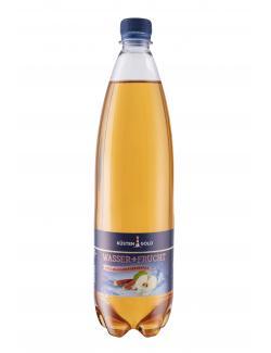 K�stengold Wasser + Frucht Apfel-Rhabarber  (1 l) - 4027109908934