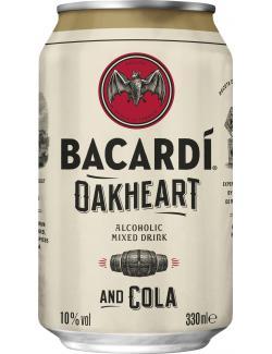 Bacardi Oakheart & Cola  (330 ml) - 5010677740098
