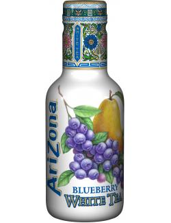 Arizona White Tea Blueberry  (500 ml) - 4260115725052