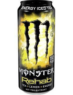 Monster Rehab Tea+Lemon+Energy  (500 ml) - 5060166697662