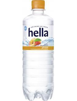 Hella Erfrischungsgetränk Pfirsich  (750 ml) - 4102380027823