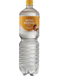 Aqua Nordic Erfrischungsgetränk Maracuja Mango  (1,50 l) - 4027109908354