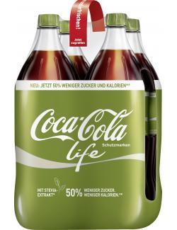 Coca Cola Life  (4 x 1,50 l) - 2000435819213