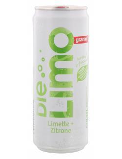Granini Die Limo Limette + Zitrone  (330 ml) - 4048517606960